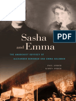Avrich P., Avrich K. Sasha and Emma. the Anarchist Odyssey of Alexander Berkman and Emma Goldman