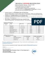 AFS SE Regional Sponsor Registration 2018
