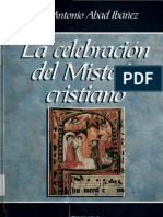 La celebración del Misterio cristiano