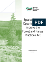 SR55 Forest and Range Practices Act