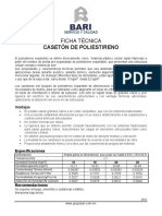 GrupoBari Ficha Poliestireno Caseton
