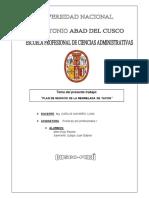 Plan de Negocios de La Mermelada de Yacon PP1.1 PDF
