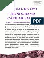 Manual de Uso Cronograma Capilar