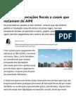 Fisco Trava Execuções Fiscais a Casais Que Reclamem Do AIMI - Impostos - Jornal de Negócios