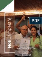 NotiCampestre Edición Nro 4.  Ocrubre del 2017