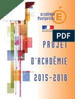 Projet Academie 2015 2018
