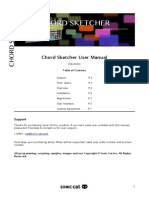 Chord Sketcher Manual EULA English