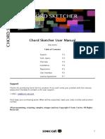 Chord Sketcher Manual EULA English