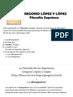 Filosofía Zapoteca