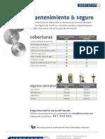 CONTRATOS DE MANTENIMIENTO y SEGURO DE EQUIPOS TOPOGRÁFICO