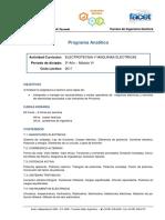 Programa 2017 06 Electrotecnia y Maquinas Electricas