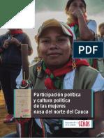 Participación Política y Cultura Política de Las Mujeres Nasa Del Norte Del Cauca