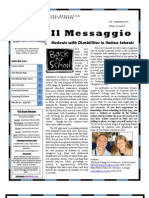 VICA Il Messaggio Fall 2010 Issue