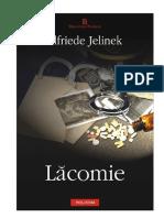 Elfriede Jelinek - Lacomie v 0.8