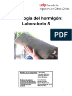 Informe 5 Lab Hormigon - Corregido