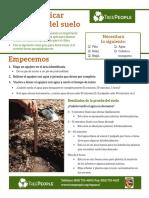 Cómo verificar el drenaje del suelo