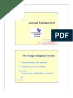 Summary Change Management