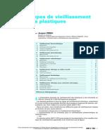 Différents Types de Vieillissement Chimique Des Plastiques