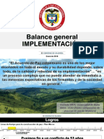 Balance del Gobierno Nacional sobre acuerdos de paz