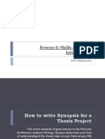 How to Write Synopsis_1