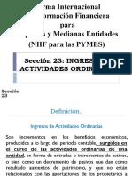 El Salvador Legis - Ingresos de Actividades Ordinarias