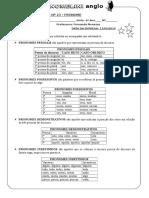 LISTA DE EXERCÍCIOS Nº 23.doc