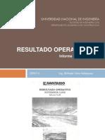 Gestion de Proyectos 2 - Resultado Operativo