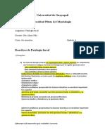 Reactivos Corregidos de Patologia Para Examen