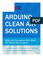 mesa utah arduino clean air sollutions nedc 2017-2018