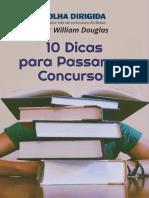 E Book Williamdouglas 10 Dicas Para Passar Em Concurso