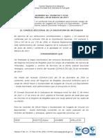 Vacantes Definitivas Oficial Mayor Circuito