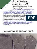 VII Depósitos VMS