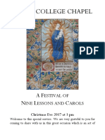 Carols From Kings Booklet 2017a