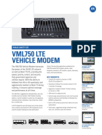 VML750 Product Spec Sheet