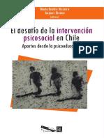 El Desafio de La Intervencion psicoeducativa - Vizcarra M