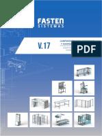 Perfil de Aluminio Fasten