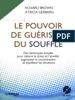 Le Pouvoir de Guérison Du Souffle - R. Brown & P. Gerbarg