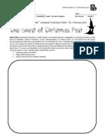 christmas carol - stave 2 - looks s
