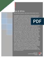 Warschawski AIC 'White & Blue'.
