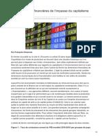 Alencontre.org-Les Dimensions Financières de Limpasse Du Capitalisme I