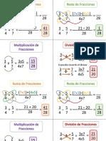 Operatoria Basica de Fracciones