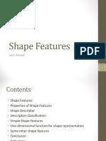 Shape Features