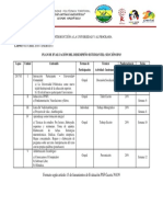 Plan de Evaluación Trayecto Inicial INDUCCION