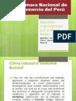 Clima Laboral y Síndrome Burnout