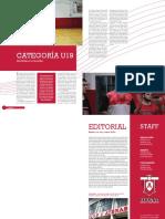 Notas U19, Editorial y Publicidad Contratapa
