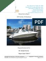 Sample Sea Ray 320