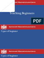Teaching Beginners Seminar