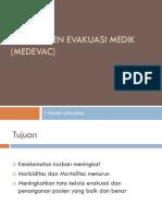 Manajemen Evakuasi Medik (Medevac)