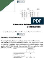 Reinforced Concrete Structures - Lesson 5