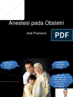 Anestesi Pada Obstetri